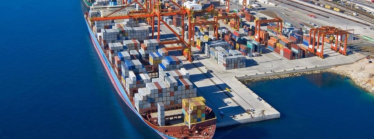 Доставка грузов в порты