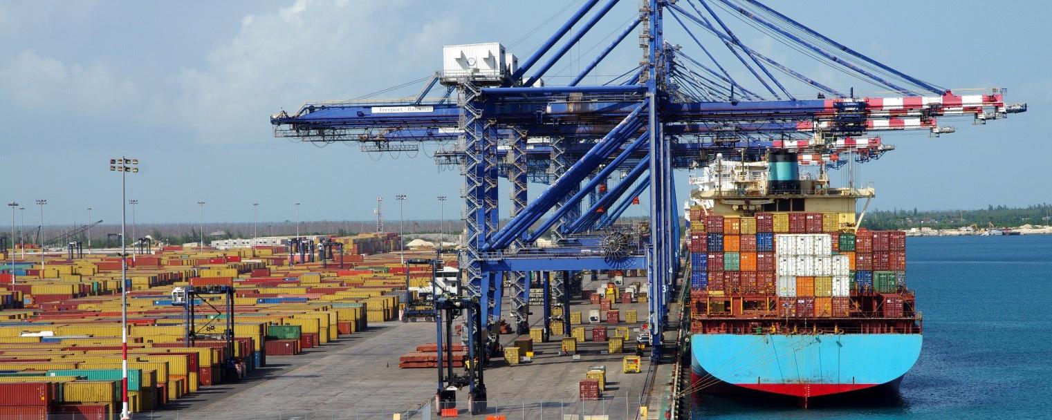 Доставка контейнеров в порты