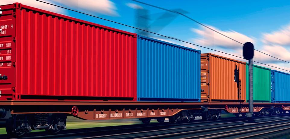 Доставка контейнеров на железнодорожные станции