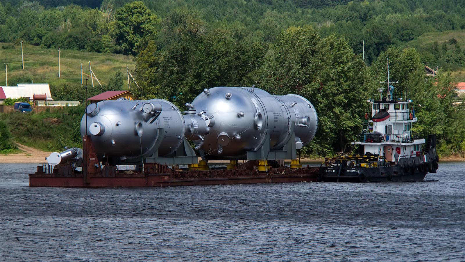 Негабаритные перевозки морским и речным транспортом